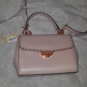 Limited edition MK crossbody pink and copper nwt